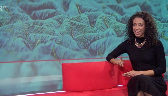 Anne Chebu moderiert die Frankenschau BR