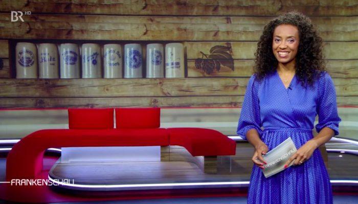 Moderatorin Anne Chebu Frankenschau BR