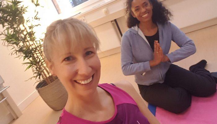 Sabine Storm und Anne Chebu machen Seelensport